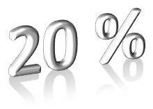 Coupon 20%