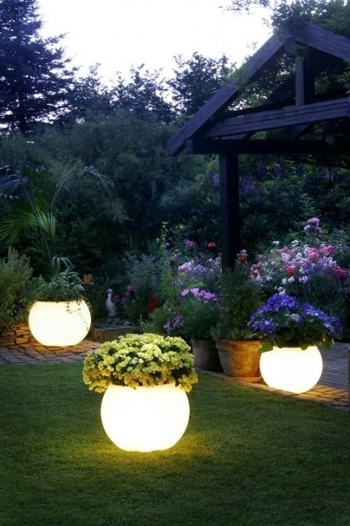 Dark Planters Pots
