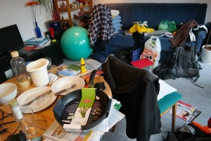 cut down on clutter